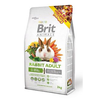 HLODAVCI - Brit Animals Rabbit Adult Complete 3kg