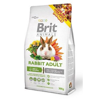HLODAVCI - Brit Animals Rabbit Adult Complete 300g