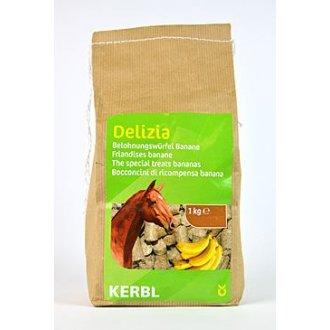 KONĚ - Pochoutka pro koně DELIZIA banán 1kg