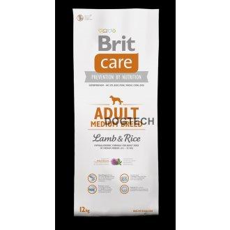 PSI - Brit Care Dog Adult Medium Breed Lamb & Rice 12kg