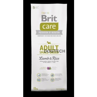 PSI - Brit Care Dog Adult Small Breed Lamb & Rice 7,5kg