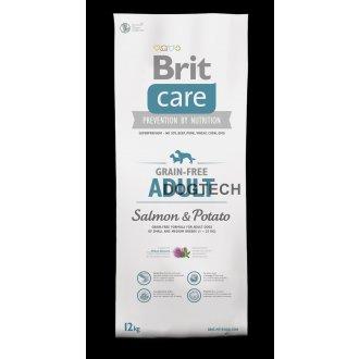 PSI - Brit Care Dog Grain-free Adult Salmon & Potato 12kg
