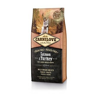 PSI - Carnilove Dog Salmon & Turkey for LB Puppies 1,5kg