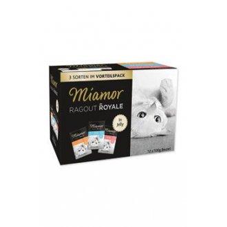 KOČKY - Miamor Cat Ragout kapsa Multi, krůta+losos+te 3x4x100g