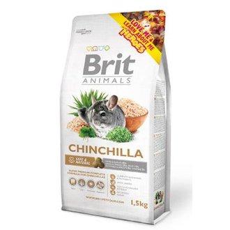 HLODAVCI - Brit Animals Chinchila Complete 1,5kg