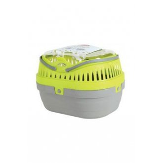 HLODAVCI - Přepravka pro hlodavce šedá/zelená S 17x23x16cm Zolux