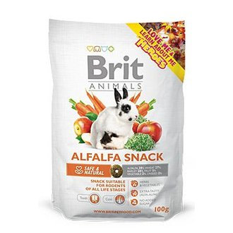 HLODAVCI - Brit Animals  Alfalfa Snack for Rodents 100g