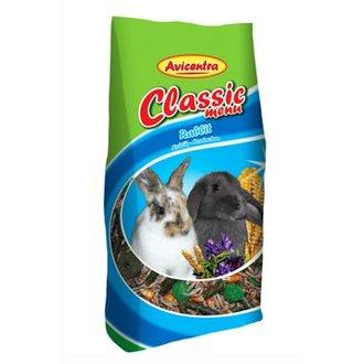 HLODAVCI - Avicentra Classic menu králík  500g