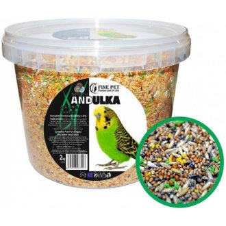 PTÁCI - FINE PET Super Mix andulka 2kg
