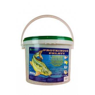 AKVARISTIKA - Proteinové pelety pro kapry granule 6mm 5kg Med