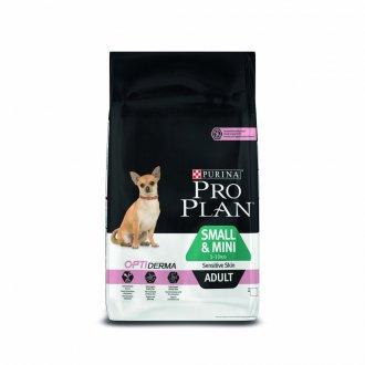 PSI - ProPlan Dog Adult Sm&Mini Sens.Skin 3kg