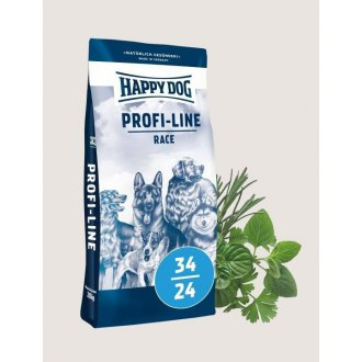 PSI - Happy Dog Profi Line Race Krokette 34/24 20 kg