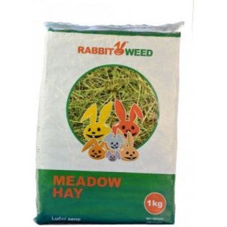 HLODAVCI - Seno  luční RabbitWeed 1kg