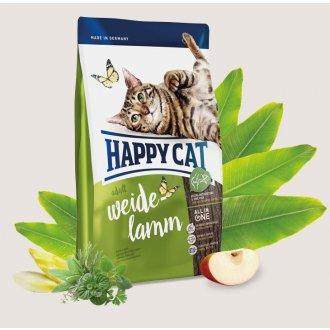 KOČKY - HAPPY CAT ADULT WEIDE-LAMM 300g