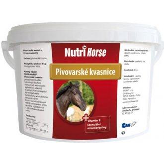 KONĚ - Nutri Horse Kvasnice plv 2kg