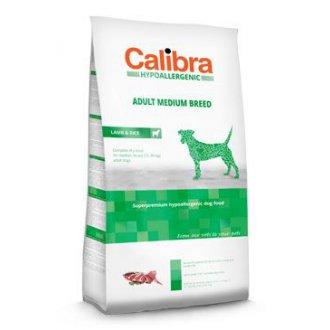 PSI - Calibra Dog HA Adult Medium Breed Lamb 14kg NEW