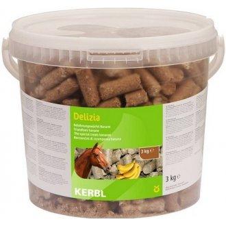 KONĚ - Pochoutka pro koně DELIZIA banán 3kg kbelík