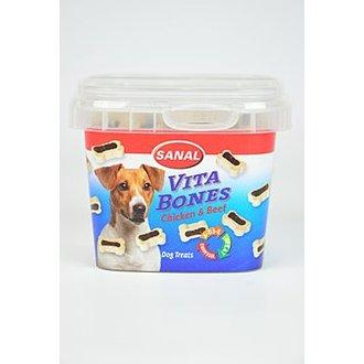 PSI - Sanal pes Vita Bones poloměk. kostič kuře/hov 100g TR*