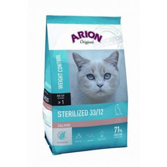 KOČKY - Arion Cat Original Sterilized Salmon 2kg