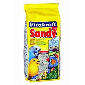 PTÁCI - Vitakraft Bird Sand Bio papoušci písek 2kg