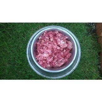 MRAŽENÉ MASO - HOVĚZÍ SMĚS ( HOVĚZÍ MASO+HOVĚZÍ DROBY) 1kg