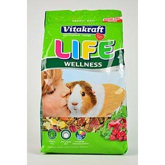 HLODAVCI - Vitakraft Rodent Guinea pig krm.Life Wellnes 600g