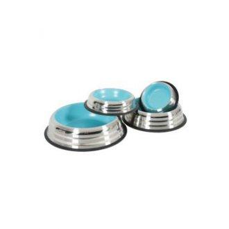 PSI - Miska nerez protiskluz pes MERENDA 1,8l modrá Zolux