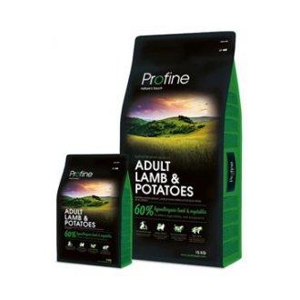 PSI - Profine NEW Dog Adult Lamb & Potatoes 15 kg