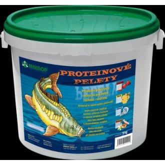 AKVARISTIKA - Proteinové pelety pro kapry granule 6mm 5kg Scopex