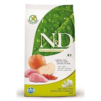PSI - N&D Grain Free DOG Adult Boar & Apple 12kg