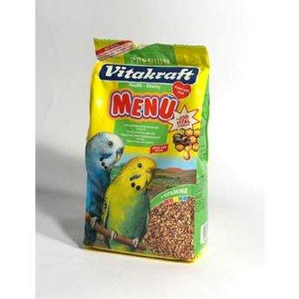 PTÁCI - Vitakraft Bird krm. Menu vital andulka 1kg + 20% ZDARMA