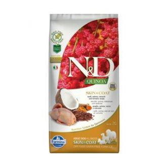 PSI - N&D GF Quinoa DOG Skin&Coat Quail & Coconut 7kg