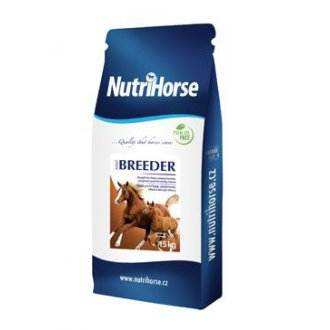 KONĚ - Nutri Horse Müsli Breeder pro koně 15kg NEW