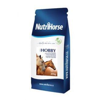 KONĚ - Nutri Horse Hobby pro koně 20kg pellets NEW