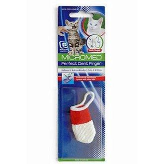 KOČKY - Kartáček zubní MICROMED na prst kočka