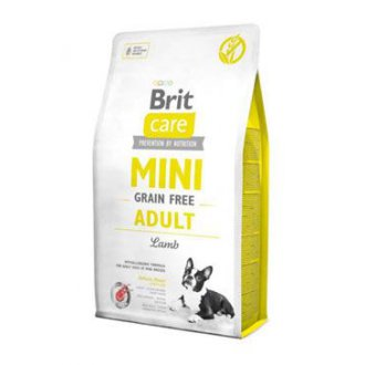 PSI - Brit Care Dog Mini Grain Free Adult Lamb 400g