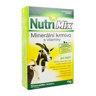 OSTATNÍ ZVÍŘATA - NutriMix pro kozy plv 1kg