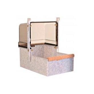 PTÁCI - AKCE - Koupelna pro papoušky velká hranatá 23x15x26cm
