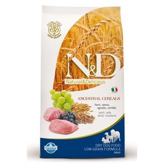 PSI - N&D Low Grain DOG Adult Mini Lamb & Blueberry 2,5kg