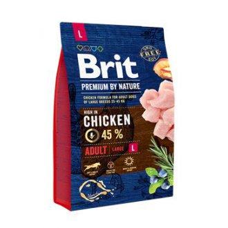 PSI - Brit Premium Dog by Nature Adult L 3kg