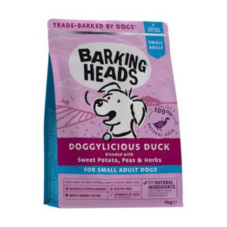PSI - BARKING HEADS Doggylicious Duck (Small breed) 4kg