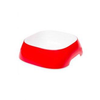 PSI - Miska plast GLAM LARGE 1,2l červená FP