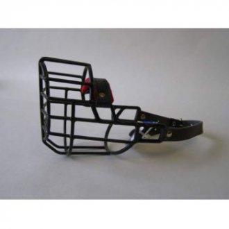 PSI - AKCE - Pogumovaný kovový náhubek boxer fena