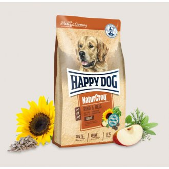 PSI - Happy Dog NaturCroq hovězí s rýží 15 kg