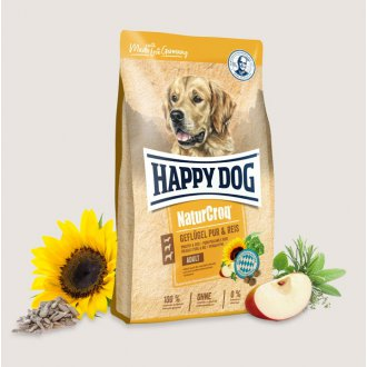 PSI - Happy Dog NaturCroq Geflügel Pur & Reis 15kg