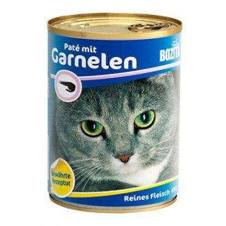 KOČKY - Bozita Cat konzerva krevety 410g