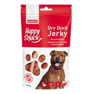 PSI - Beaphar Dog Happy Snack pochoutka kachní kousky 60g
