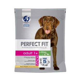 PSI - Perfect Fit DOG Adult 1+ kuřecí M/L 1,4kg