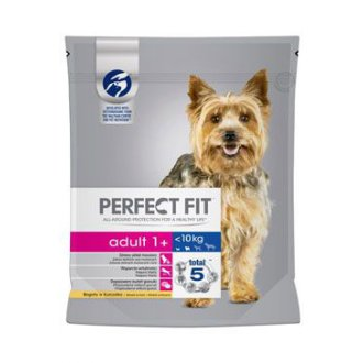 PSI - Perfect Fit DOG Adult 1+ kuřecí XS/S 825g