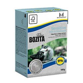 KOČKY - Bozita Feline Diet & Stomach - Sensitive TP 190g